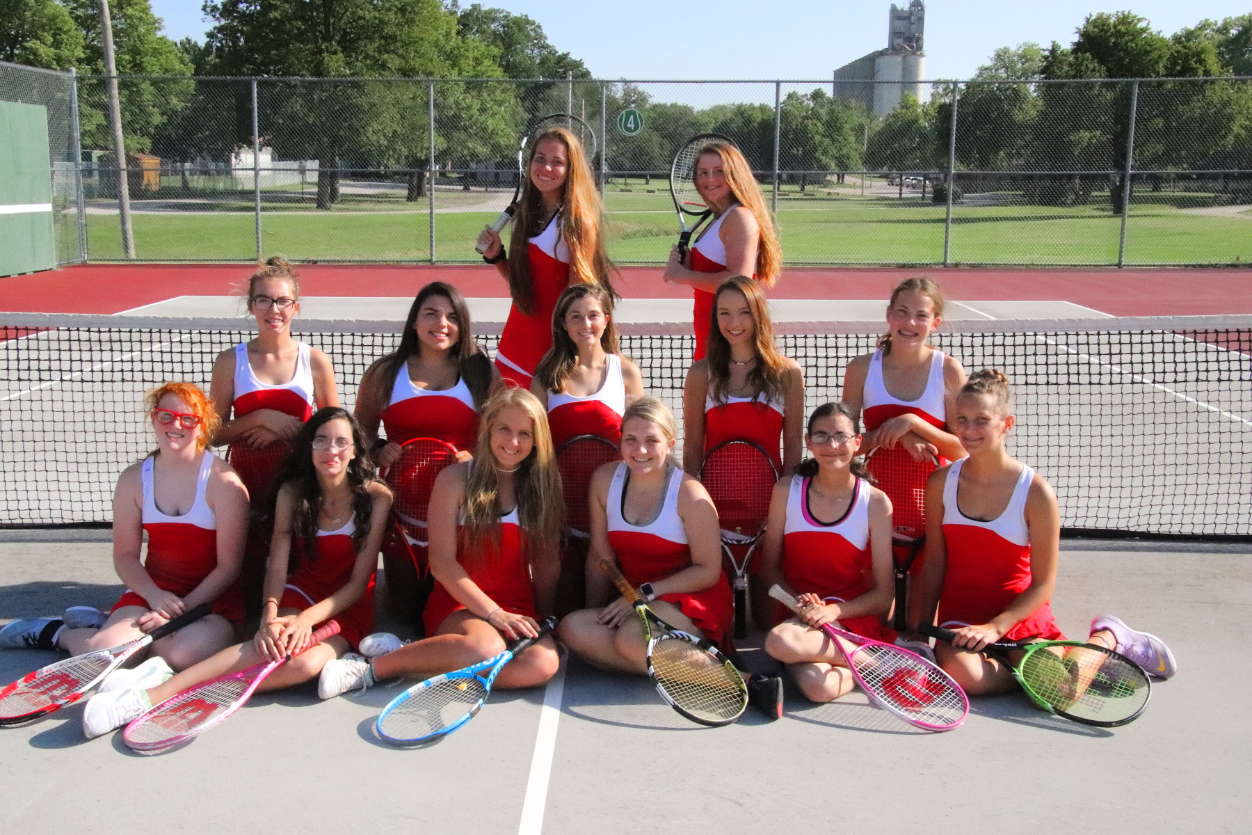 WHS Girls Tennis 2018 Team Pic