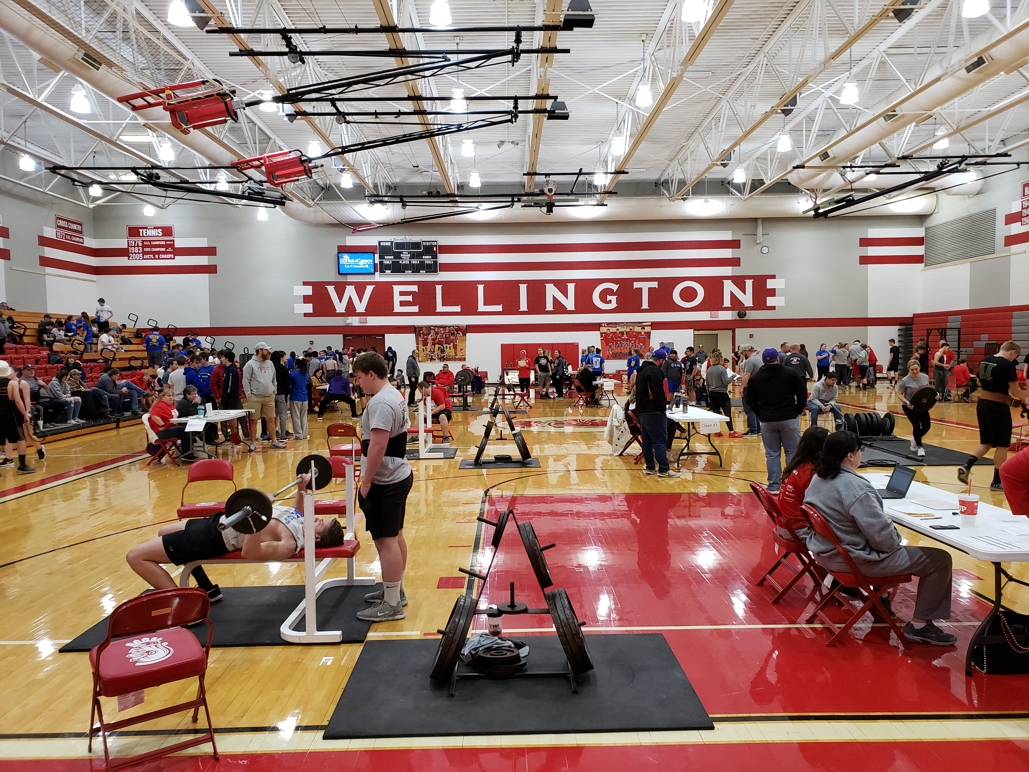 2020 WHS Powerlifting Meet 01182