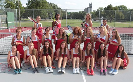 Lady Crusader Tennis