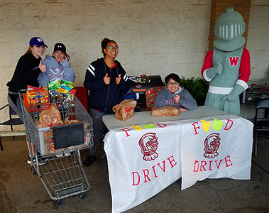 Crusader Way FOOD DRIVE 042917