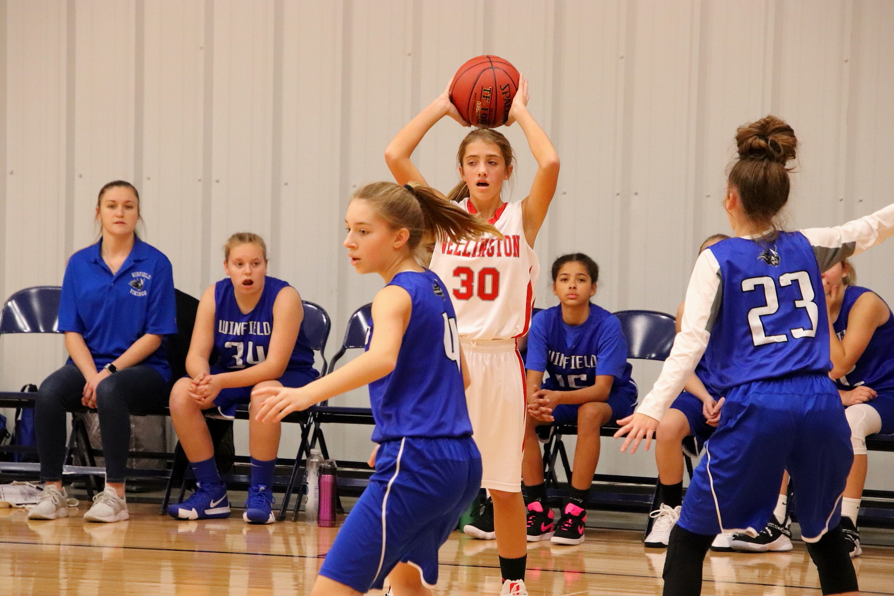 7th Gr Girls Basketball - Lyric Cornejo