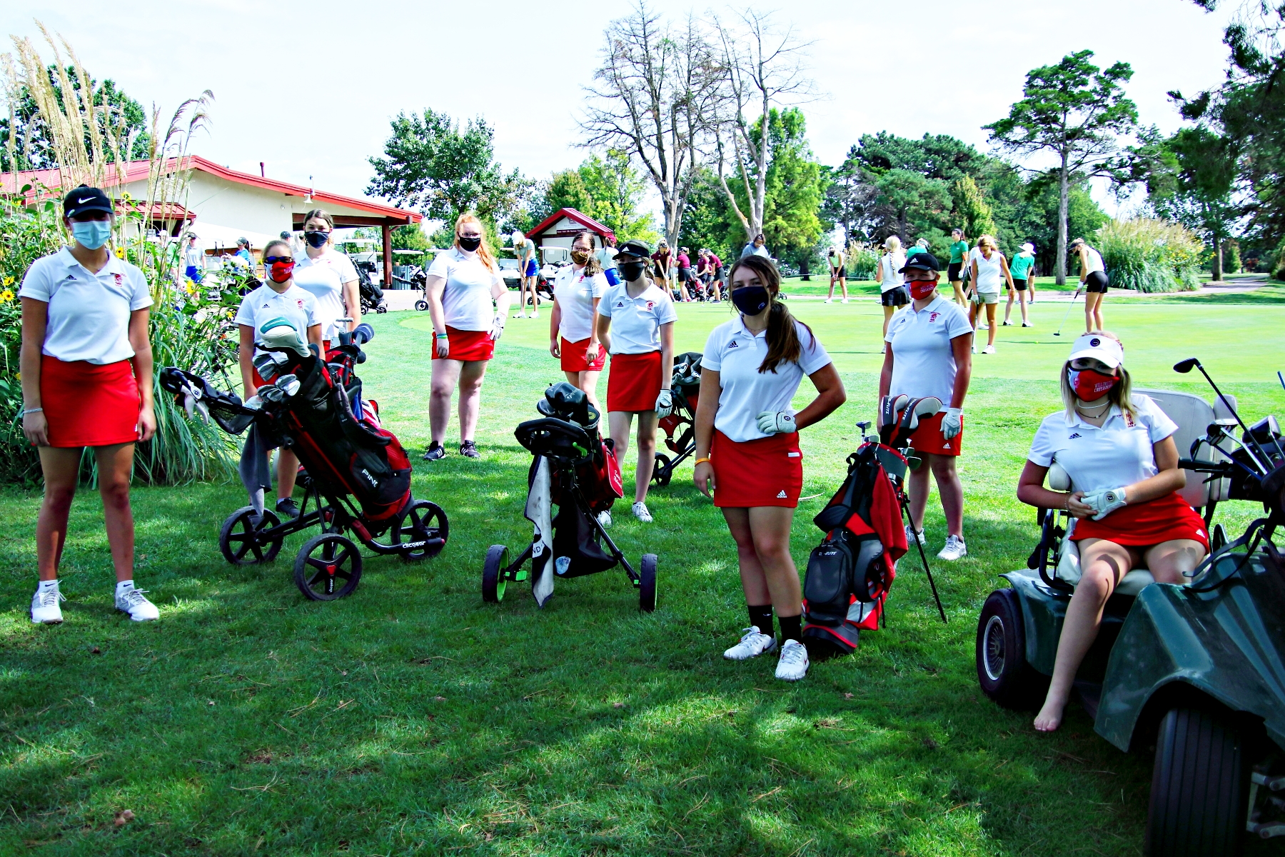 WHS Girls Golf Invite 091420