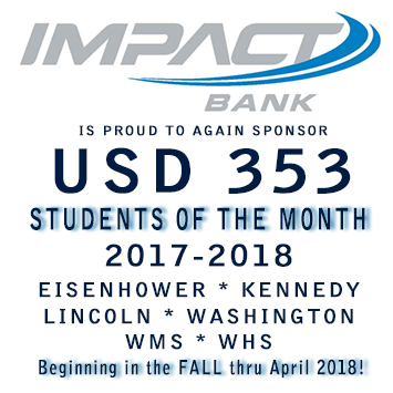 "IMPACT BANK'S ""STUDENTS OF THE MONTH!"""