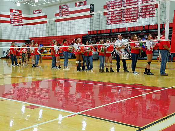Home Triangular / Senior Night