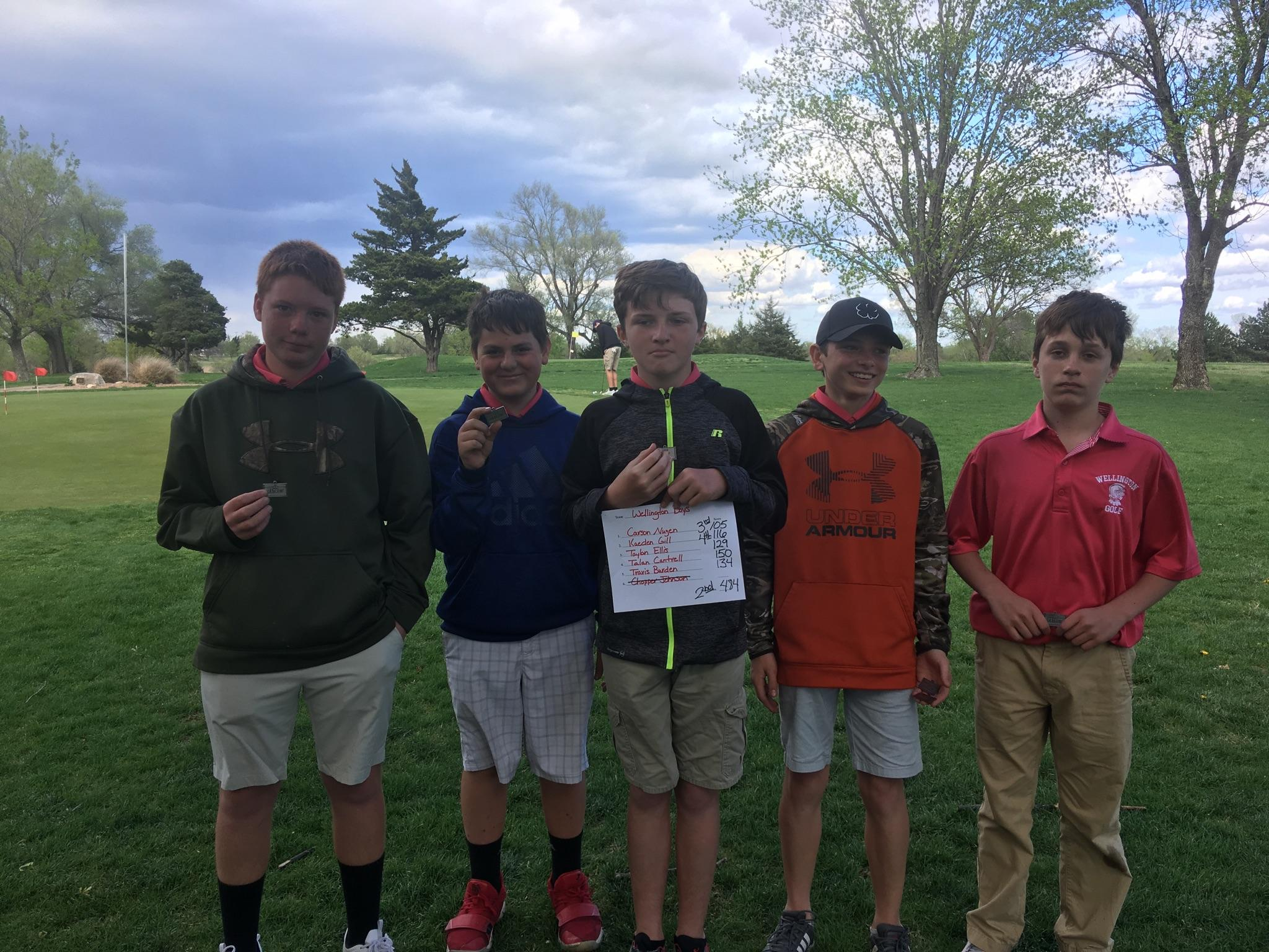 WMS Boys Golf - 2nd Patriot League Championships