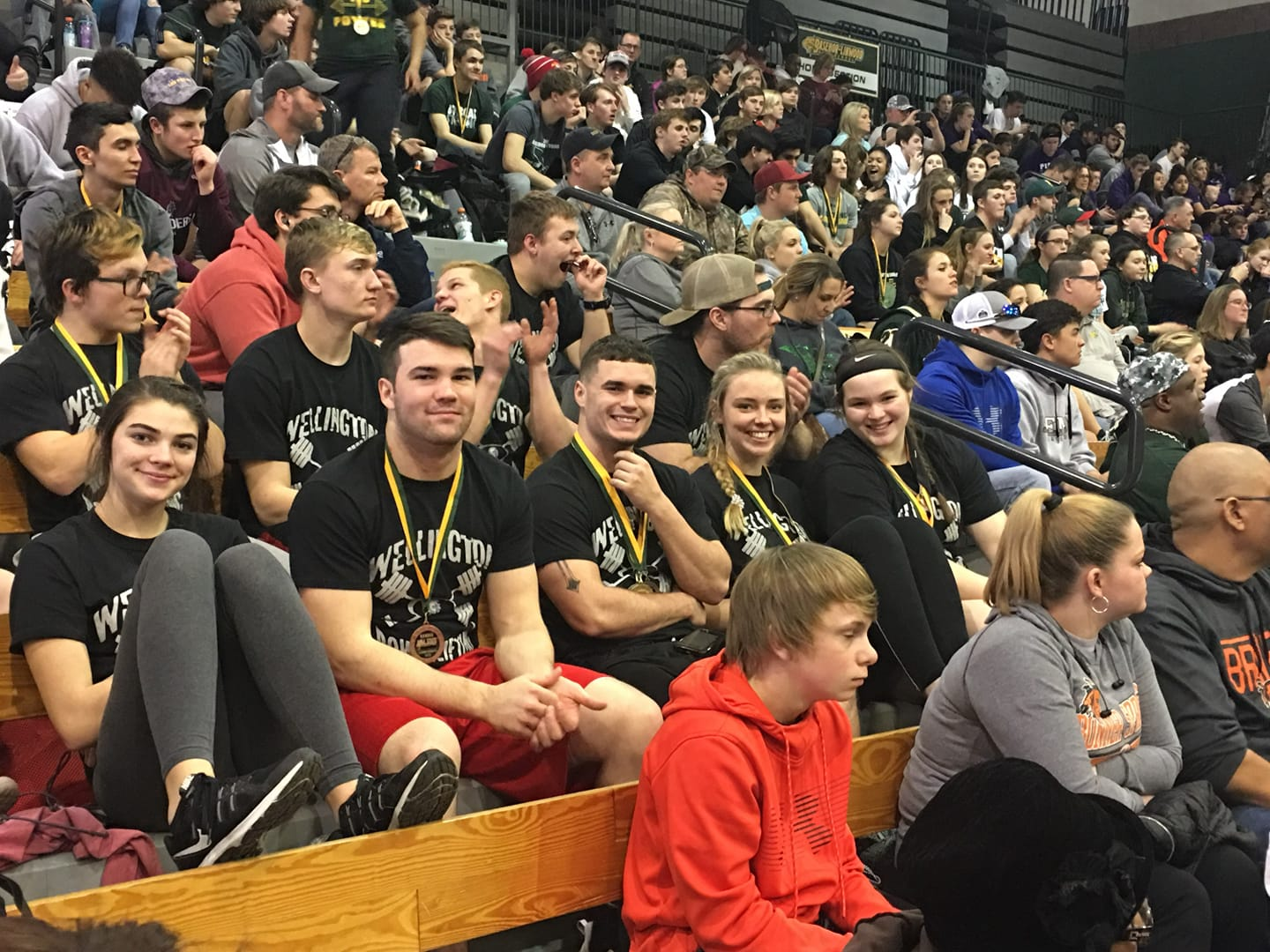 Medalists / State 4A Powerlifting @ Basehor Linwood HS