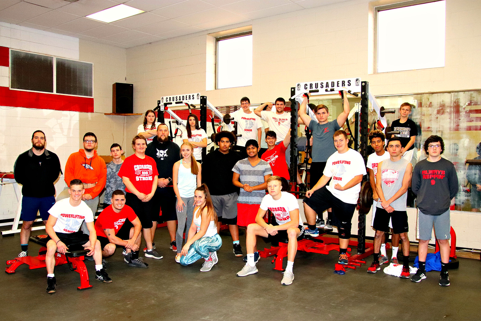 Powerlifters WHS