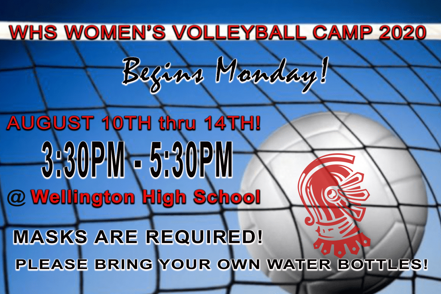 Volleyball Camp WHS 2020
