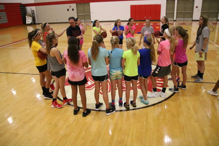 WMS Girls Basketball Camp