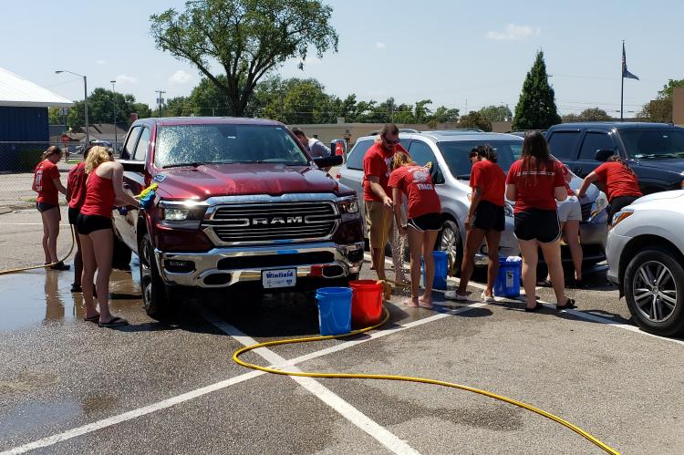 Volleyball Car Wash