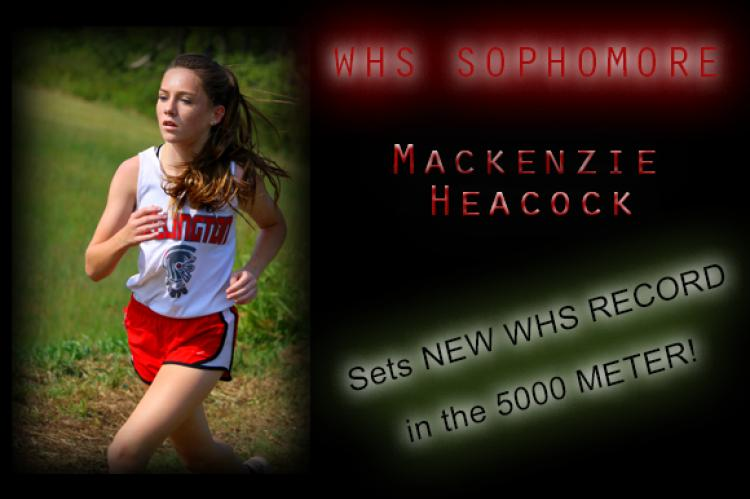 Mackenzie Heacock (New 5K WHS Record Holder!)