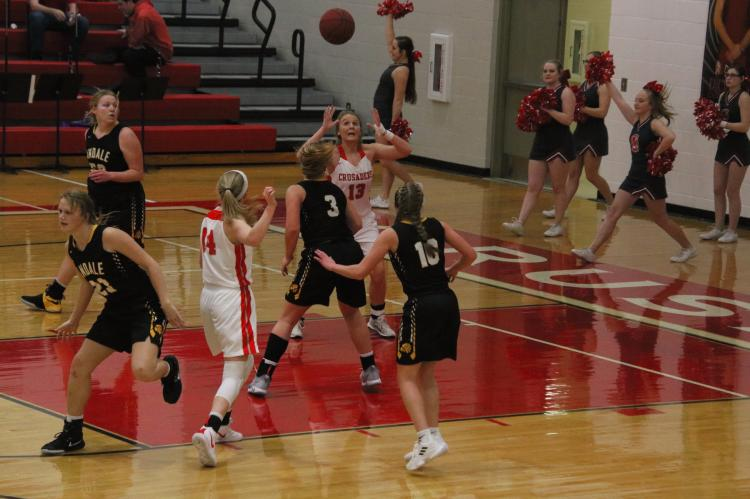 Lady Crusader Basketball vs Andale