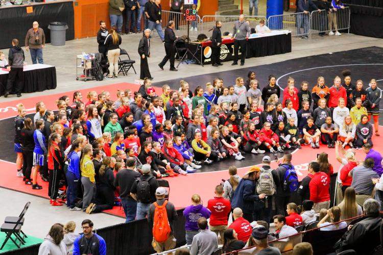 Girls State Wrestling Participants 2020