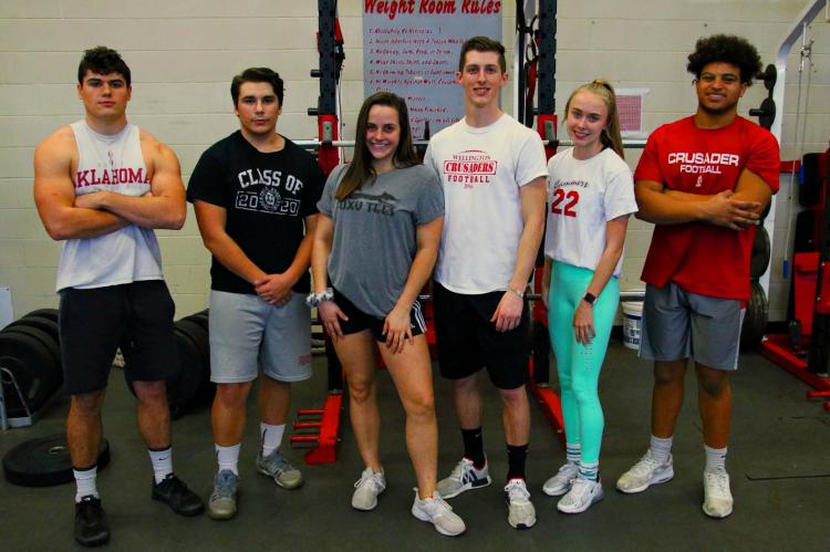 Senior Powerlifters 2020