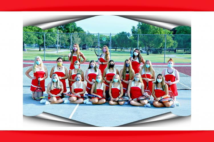 Lady Crusader Girls Tennis 2020