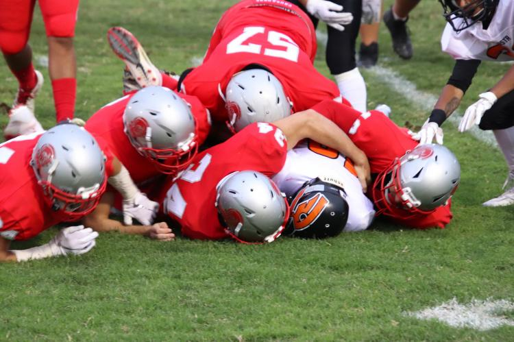 Crusader Football SWARM TACKLE