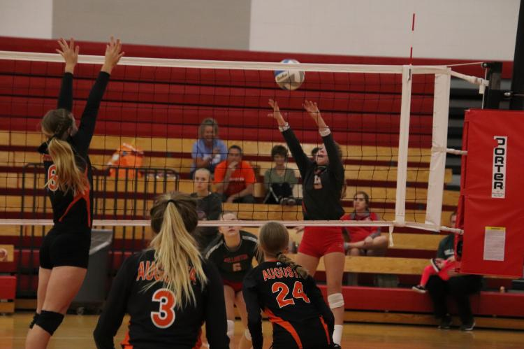 WHS Freshman Volleyball Quad 092718