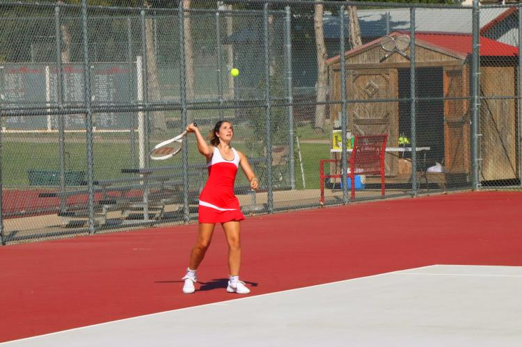Girls Tennis Home Opener 090319