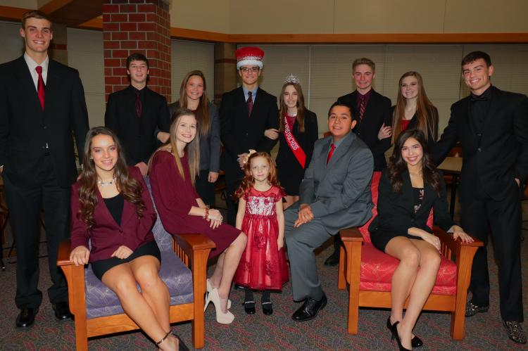 Duke Logan Jones and his Court
