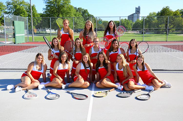 Girls Tennis 2017