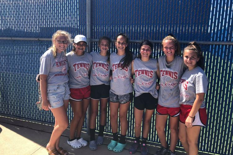 WMS 7/8 Girls Tennis