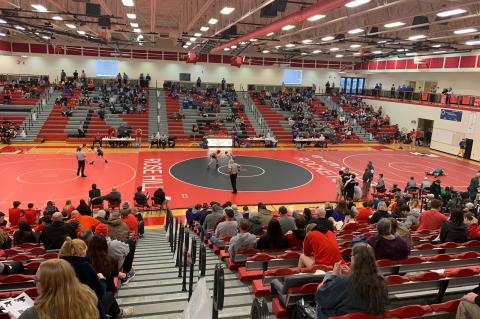 Rose Hill Invitational Wrestling Feb. 7-8, 2020