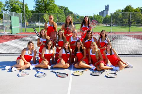 WHS GIRLS TENNIS 2017