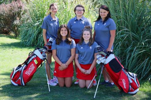 WHS 2017 GIRLS GOLF TEAM