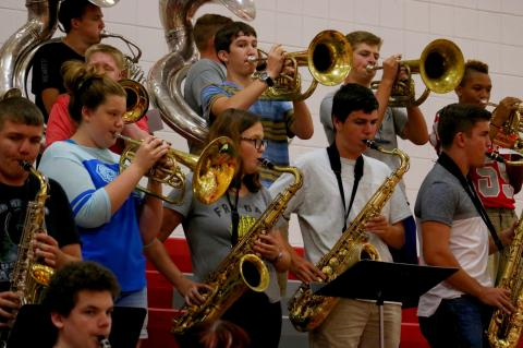WHS Pep Assembly 090817