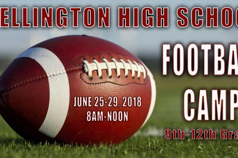 WHS 2018 Football Camp