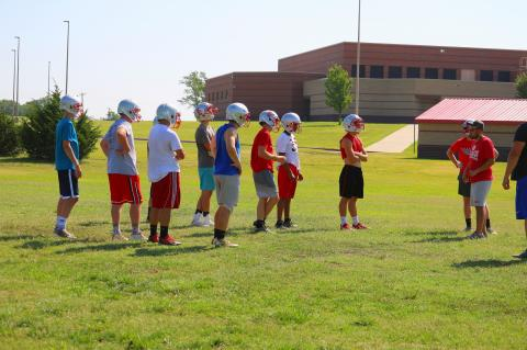 2018 WHS Football Camp