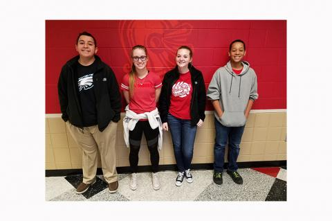 WHS Students of the Month JANUARY 2018