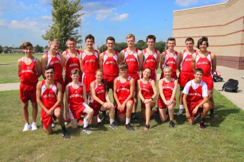 WHS 2018 Cross Country Team