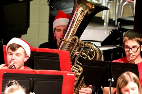 WHS BAND - Christmas Concert 2020