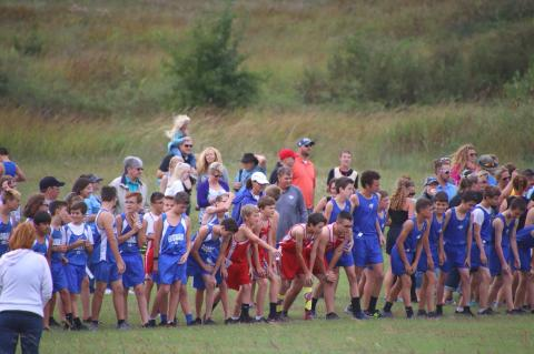 WMS Cross Country @ Hargis Creek Watershed
