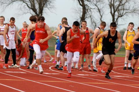 Belle Plaine HS Track Meet