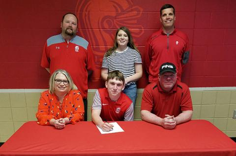 Blake Bales signs with Coffeyville
