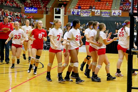 State 4A Volleyball Tournament 2017