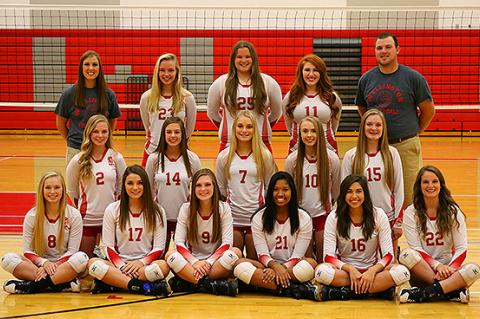 WHS Varsity Volleyball 2017