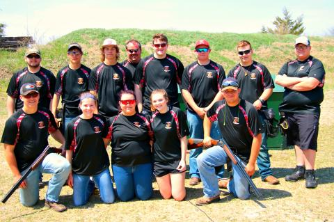 WHS Spring 2018 Clay Target Team