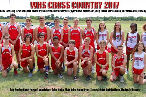 2017 WHS CROSS COUNTRY TEAM
