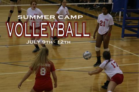 Summer Volleyball Camp 2018