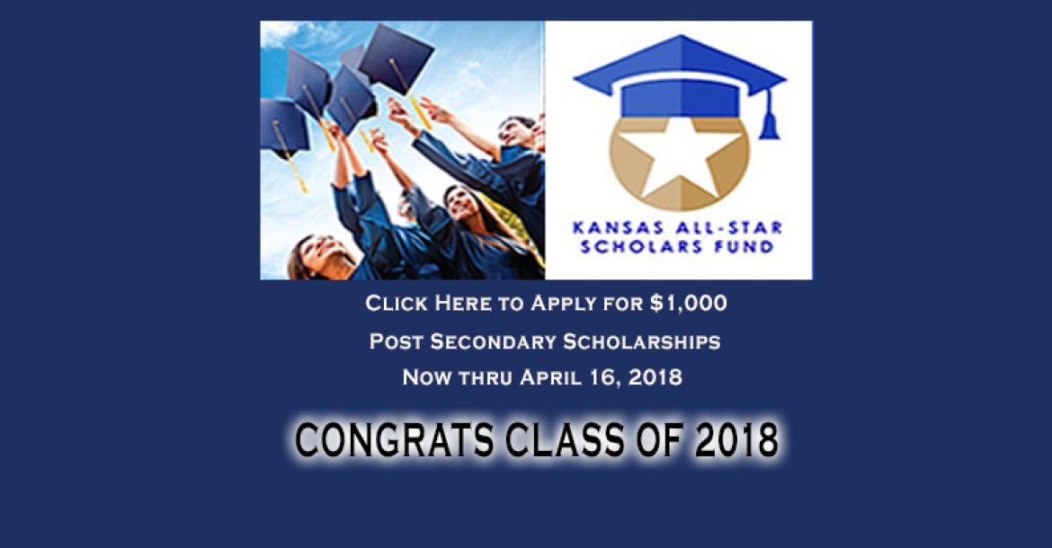 Kansas All Star Scholars Fund 2018