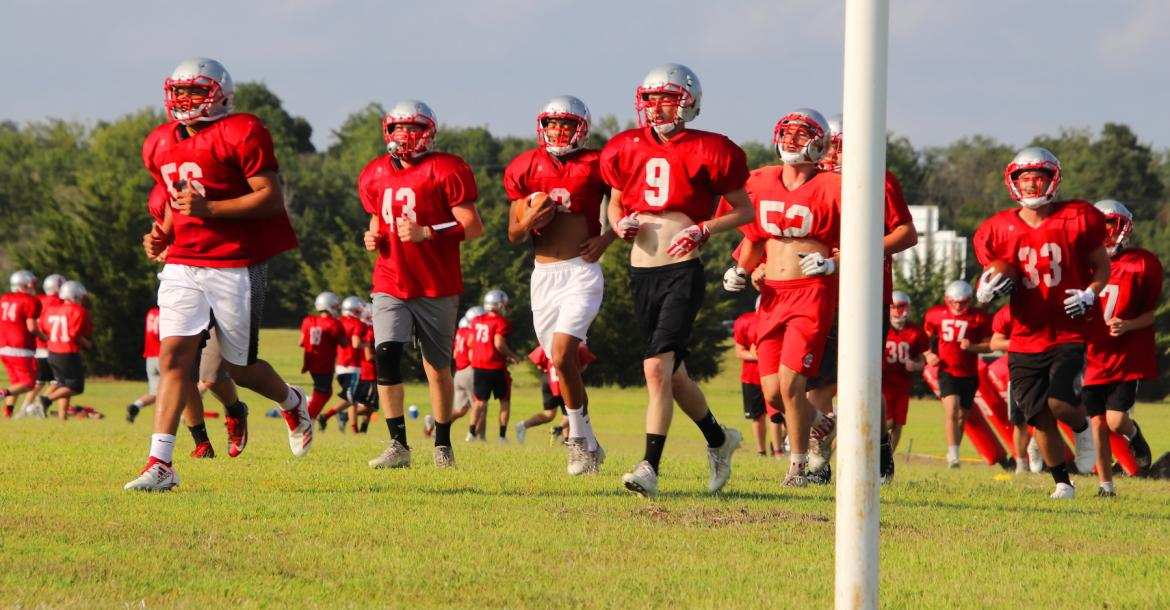 Fall Sports Practice - Crusader Football