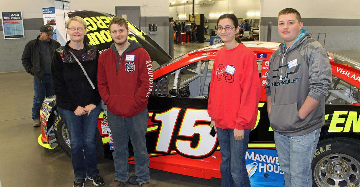 WHS students Bryce Gilbreth, Alisha Waters and Mason Sparks attended the Technical Career Day at Davis-Moore in Wichita this past Saturday. There were several post-secondary institutions represented which allowed the students opportunities to explore training options. In addition, they were able to network with master technicians and see some demonstrations in the service area of Davis- Moore.