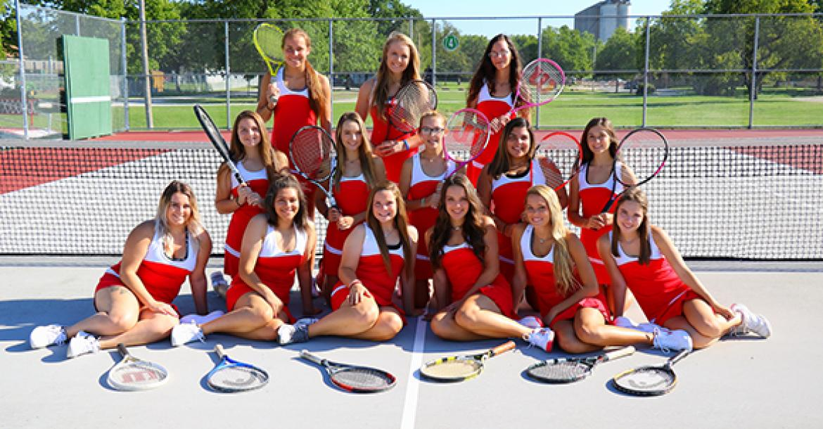 WHS 2017 Girls Tennis