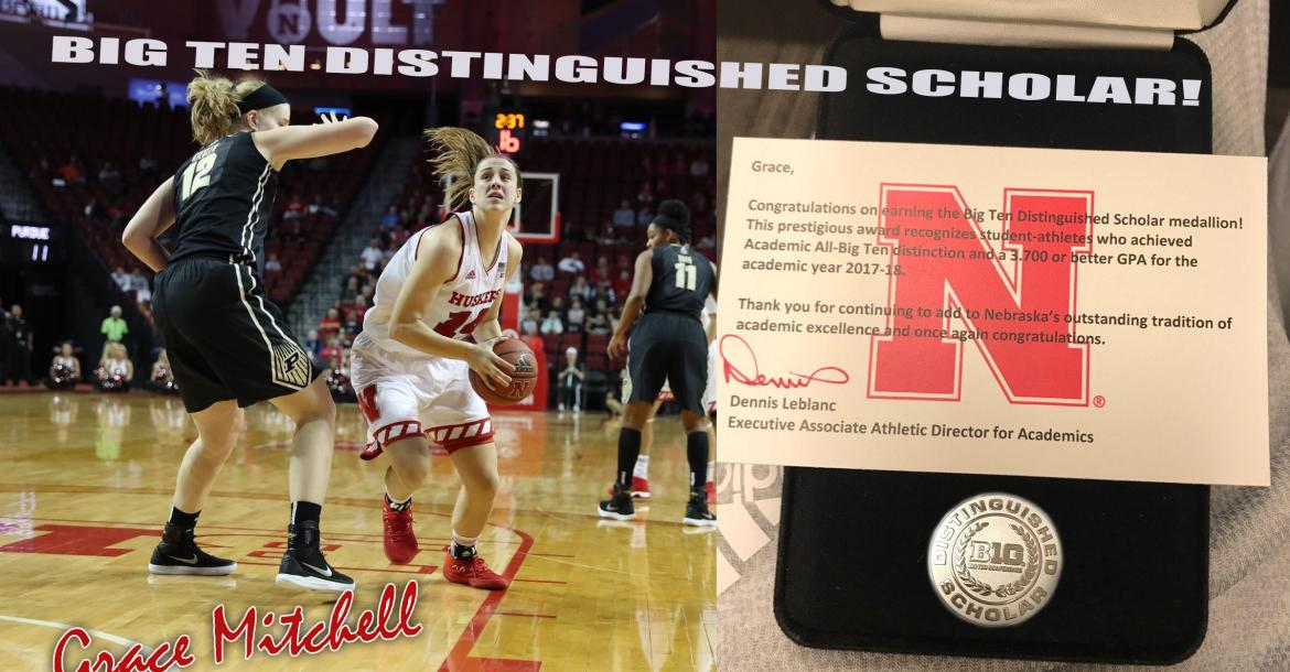 Distinguished Scholar @ Nebraska - Grace Mitchell