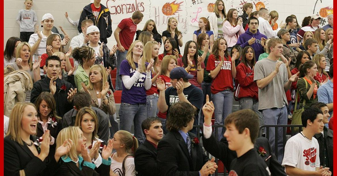Home Crowd @ Basketball 012706