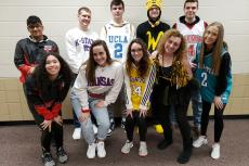 Spirit Week Monday - Mascot Monday