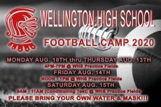 WHS Football Camp 2020
